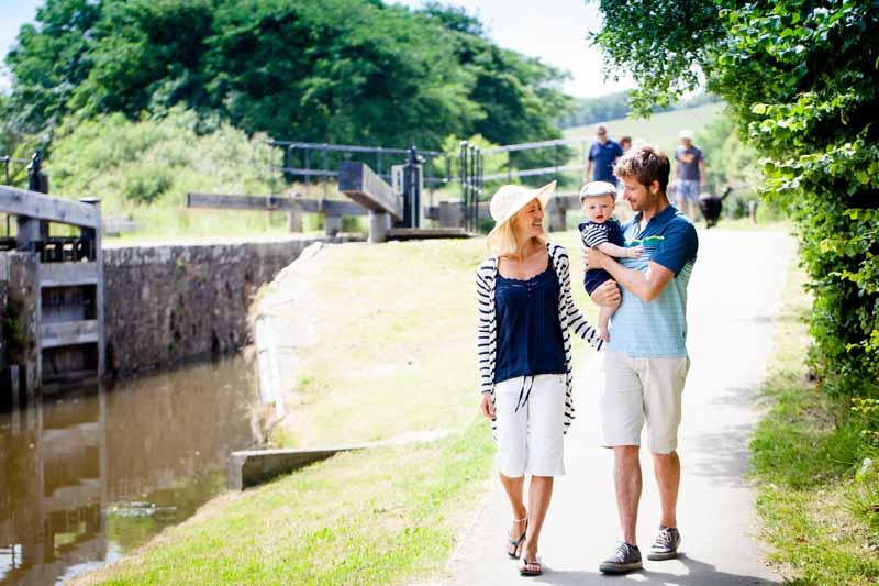 Family walks in Bude
