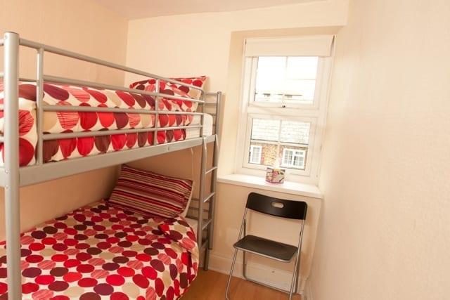 Bithecutt Cottage bunk bedroom