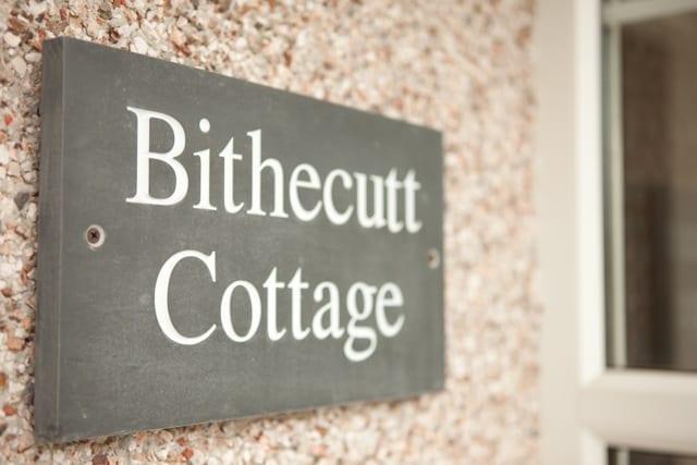 Bithecutt Cottage sign