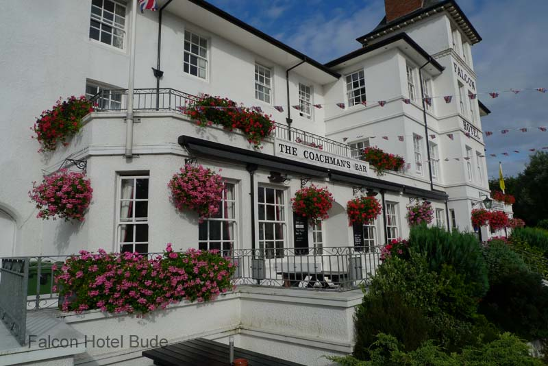 Falcon Hotel Bude in Bloom