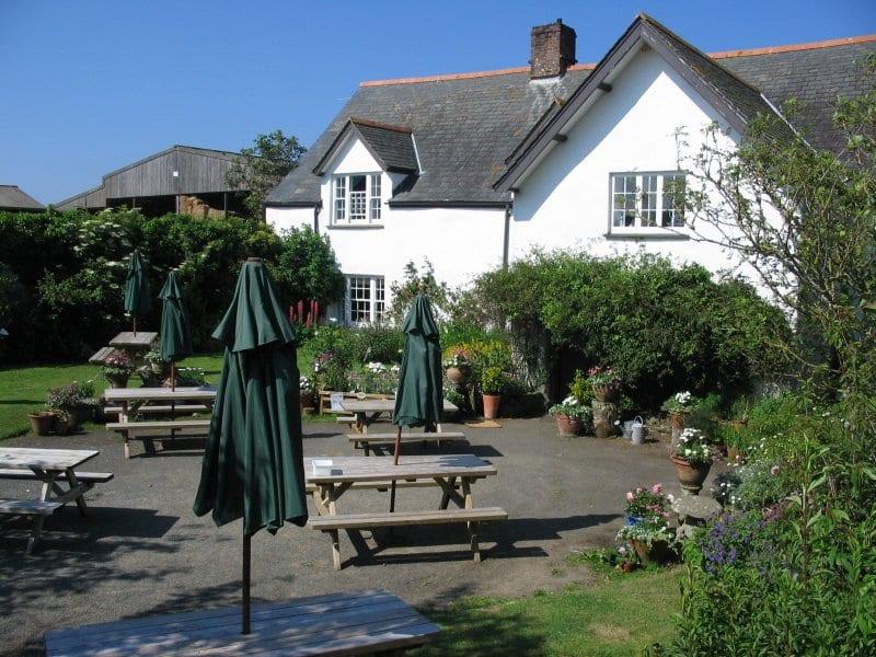 Rectory Farm Tea Rooms Morwenstow Cornwall