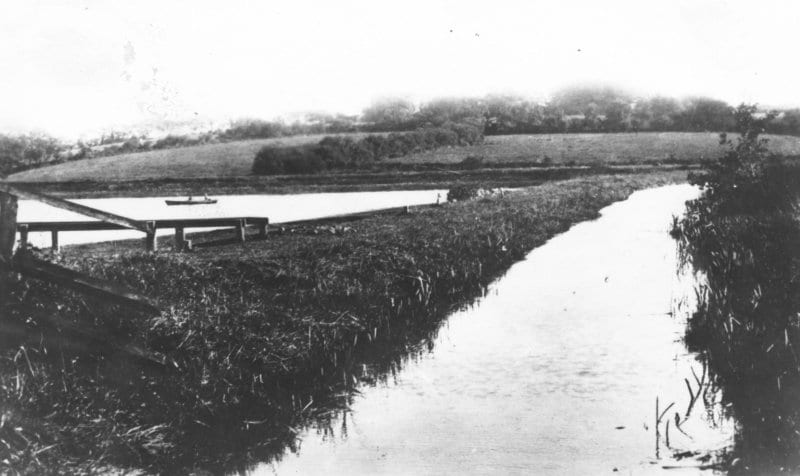 Historic Bude Canal Tamar Lake