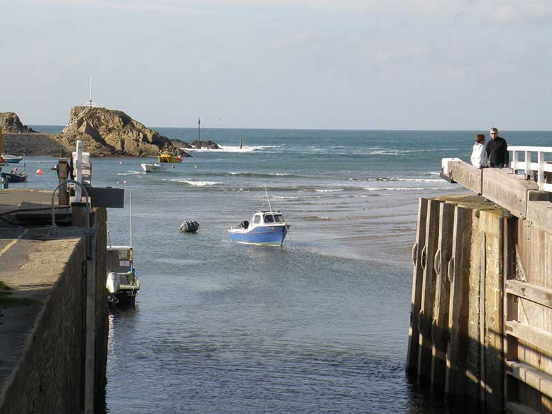 Bude Sea Lock Gate