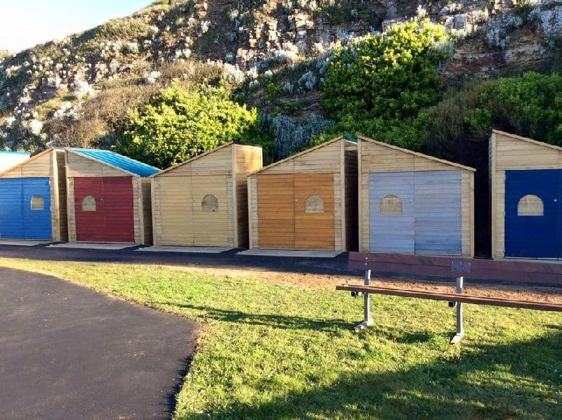 Mentone Beach Huts in Bude