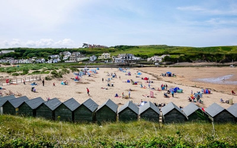Summerleaze Decking Beach Huts