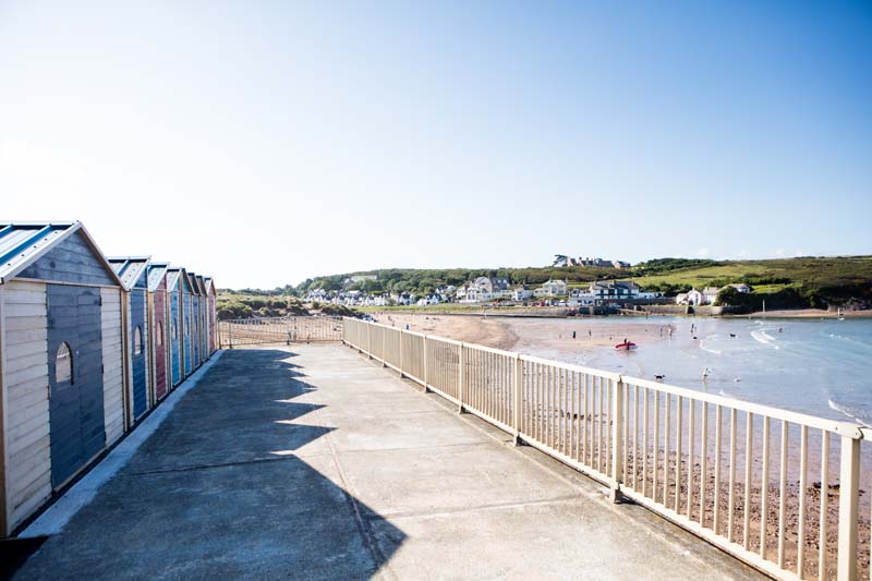 Upper Terrace Beach Huts Bude 2