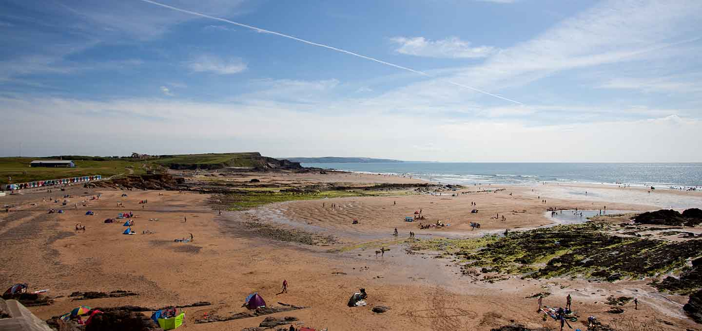 Crooklets Beach in Bude