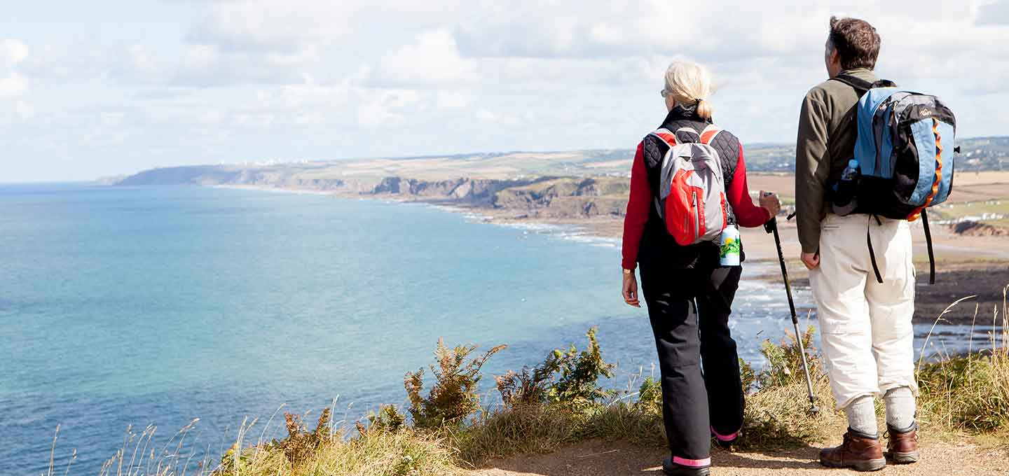 Walking the South West Coast Path in Bude