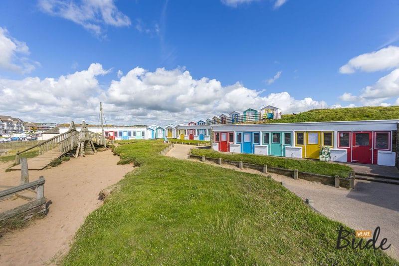 Crooklets Beach Hut 1