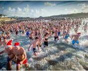 Bude Christmas Day Swim Image (c) Bob Willingham, Studio South West, Bude