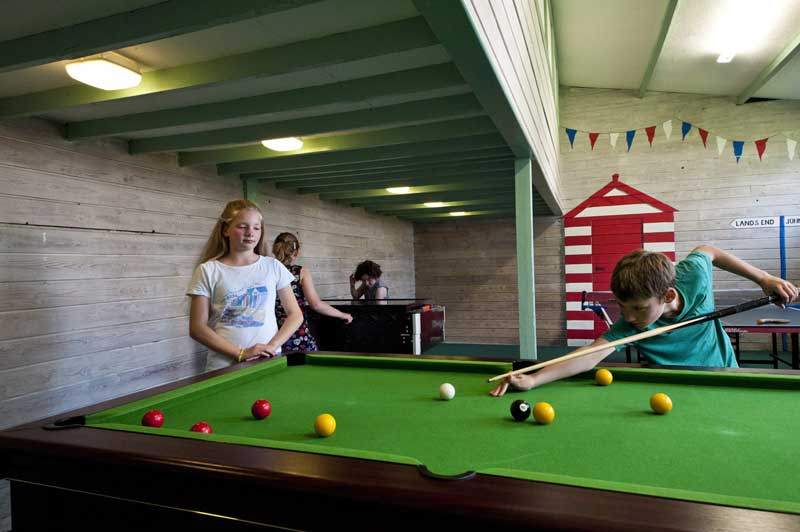 General Broomhill Manor Image games room pool table