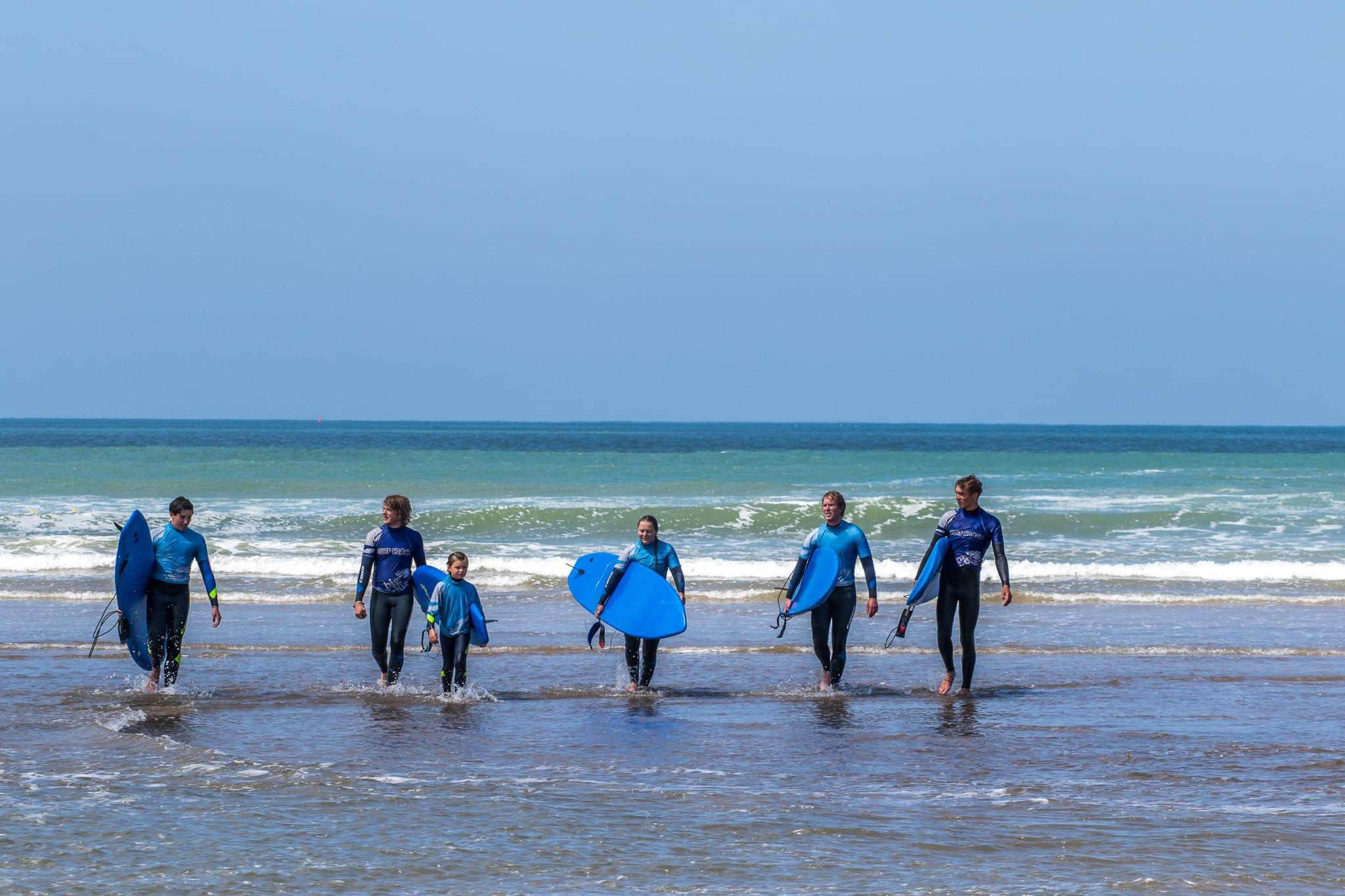 big blue surf school