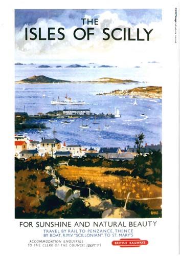 British Railways Isles of Scilly Poster