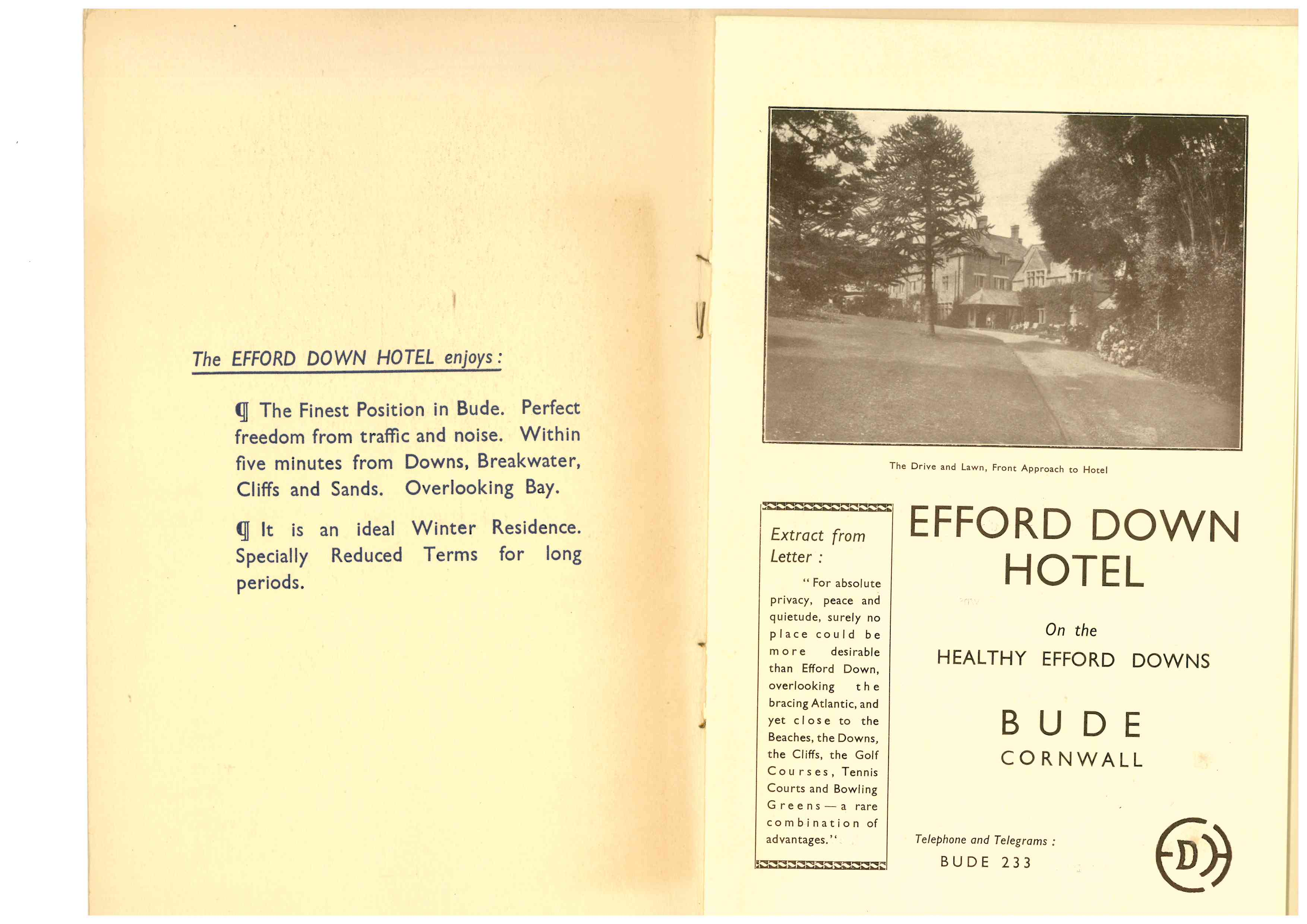 Efford Down Hotel Bude Visitbude
